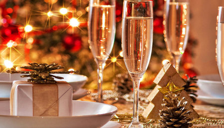 Новогодний гала банкет в Ресторане Оджах, выпивка включена 31.12.2019